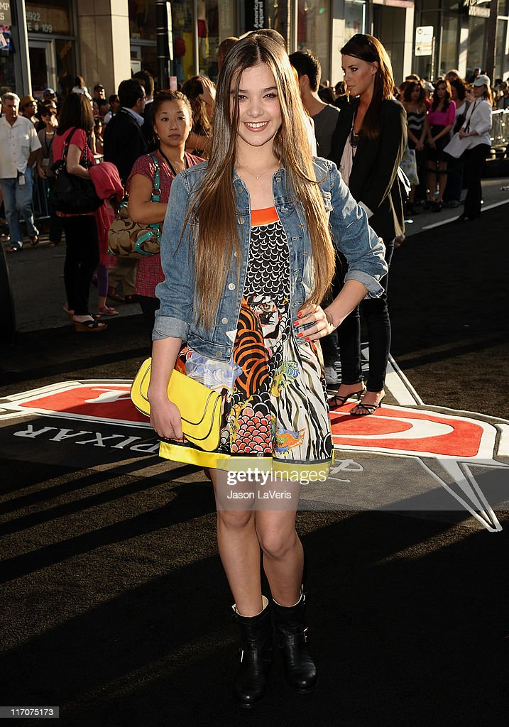Actress Hailee Steinfeld attends the premiere of Disney/Pixar's 'Cars 2' at the El Capitan Theatre on June 18, 2011 in Hollywood, California.