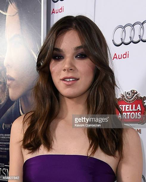 Actress Hailee Steinfeld attends the screening of 'The Homesman' during AFI FEST 2014 presented by Audi at Dolby Theatre on November 11 2014 in...