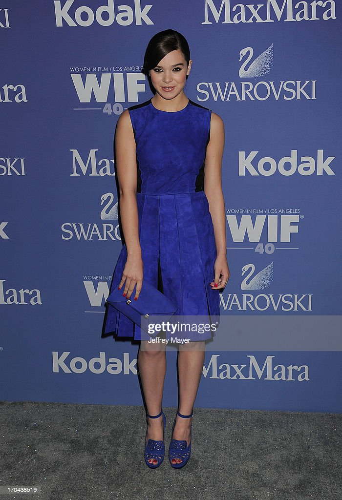Actress Hailee Steinfeld attends Women In Film's 2013 Crystal + Lucy Awards at The Beverly Hilton Hotel on June 12, 2013 in Beverly Hills, California.