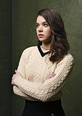 Actress Hailee Steinfeld from 'Ten Thousand Saints' poses for a portrait at the Village at the Lift Presented by McDonald's McCafe during the 2015...