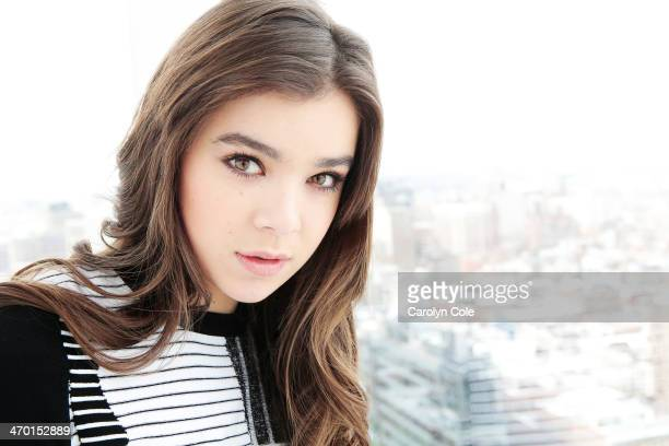 Actress Hailee Steinfeld is photographed for Los Angeles Times on February 9 2014 in New York City PUBLISHED IMAGE CREDIT MUST BE Carolyn Cole/Los...