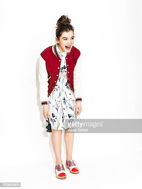 Actress Hailee Steinfeld is photographed for Nylon Magazine on March 2 2014 in New York City