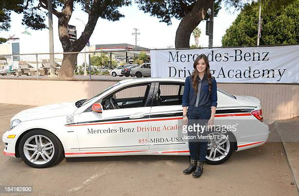 Hailee steinfeld jeans stock photos and pictures getty for Mercedes benz driving school los angeles