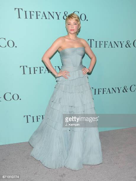 Actress Haley Bennett attends the Tiffany Co 2017 Blue Book Collection Gala at St Ann's Warehouse on April 21 2017 in New York City