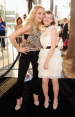 Actress Haley King and sister actress Joey King arrive at the Los Angeles Premiere 'The Conjuring' at ArcLight Cinemas Cinerama Dome on July 15 2013...