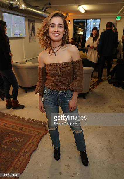 Actress Haley Lu Richardson attends ATT At The Lift during the 2017 Sundance Film Festival on January 22 2017 in Park City Utah