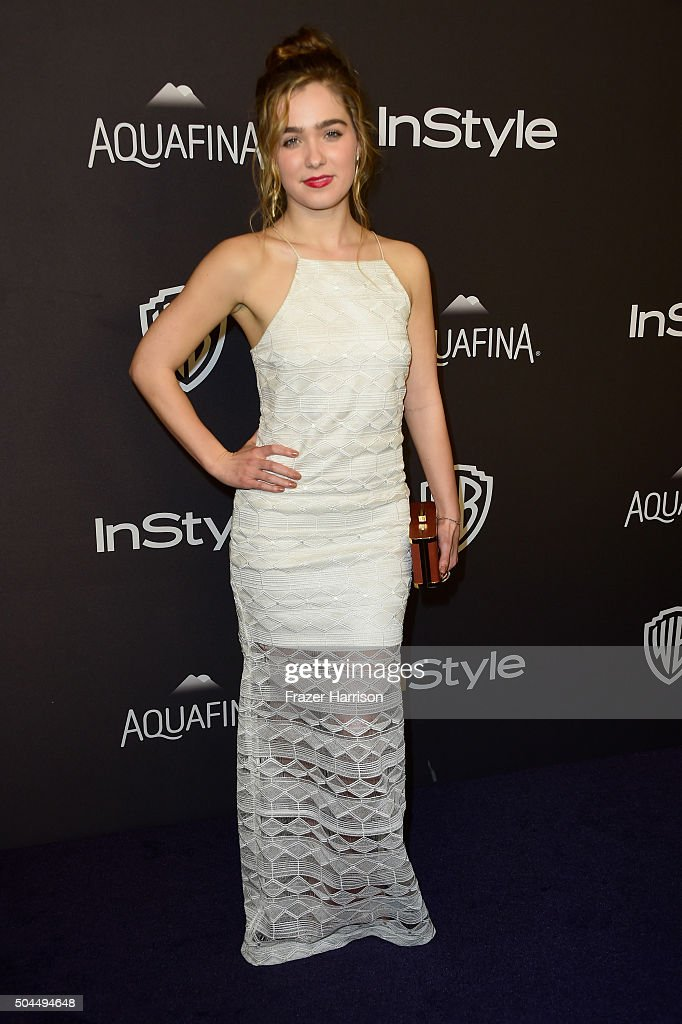 Actress Haley Lu Richardson attends InStyle and Warner Bros. 73rd Annual Golden Globe Awards Post-Party at The Beverly Hilton Hotel on January 10, 2016 in Beverly Hills, California.