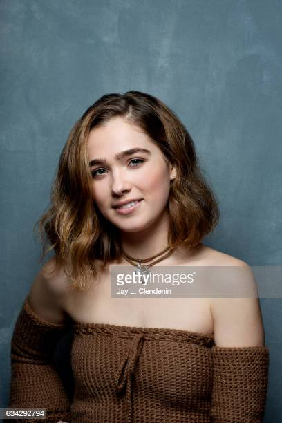 Actress Haley Lu Richardson from the film Columbus is photographed at the 2017 Sundance Film Festival for Los Angeles Times on January 22 2017 in...