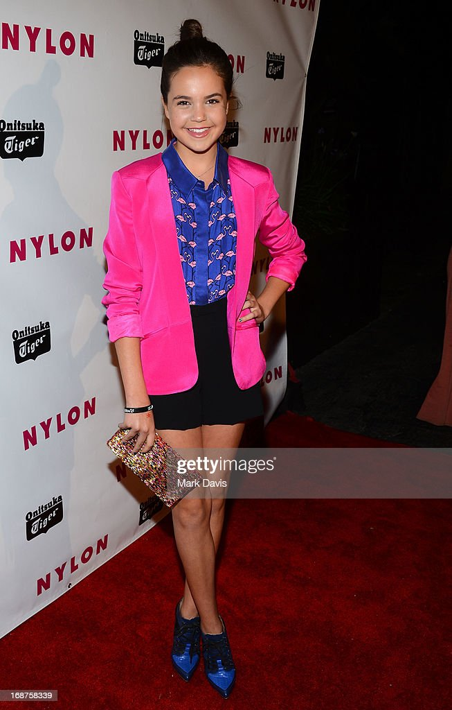 Actress Haley Madison attends NYLON And Onitsuka Tiger Celebrate The Annual May Young Hollywood Issue at The Roosevelt Hotel on May 14, 2013 in Hollywood, California.