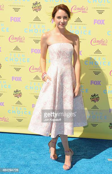 Actress Haley Ramm arrives at the Teen Choice Awards 2015 at Galen Center on August 16 2015 in Los Angeles California
