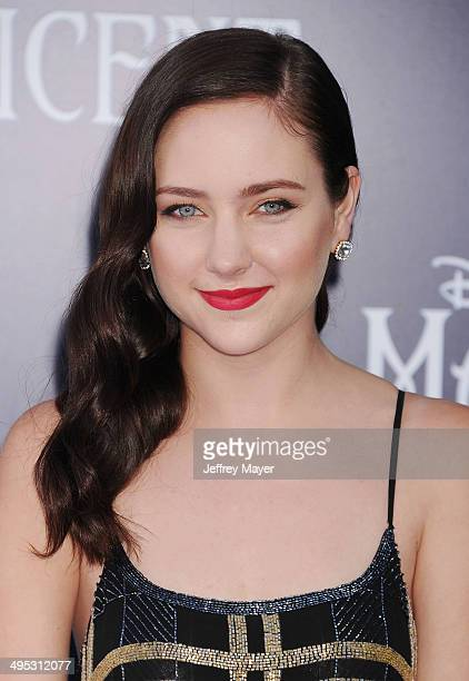 Actress Haley Ramm arrives at the World Premiere Of Disney's 'Maleficent' at the El Capitan Theatre on May 28 2014 in Hollywood California