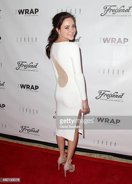 Actress Haley Ramm attends TheWrap's First Annual Emmy Party at The London West Hollywood on June 5 2014 in West Hollywood California