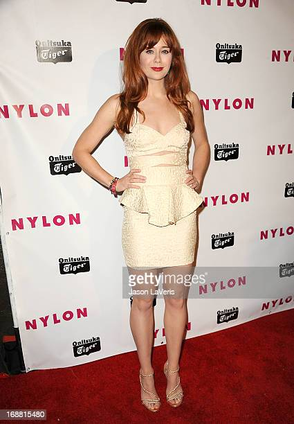 Actress Haley Strode attends Nylon Magazine's Young Hollywood issue event at The Roosevelt Hotel on May 14 2013 in Hollywood California