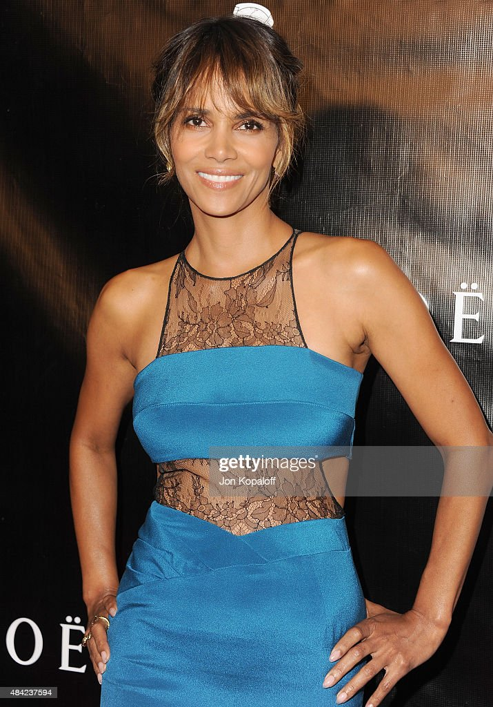 Actress <a gi-track='captionPersonalityLinkClicked' href=/galleries/search?phrase=Halle+Berry&family=editorial&specificpeople=201726 ng-click='$event.stopPropagation()'>Halle Berry</a> arrives at Hollywood Foreign Press Association Hosts Annual Grants Banquet at the Beverly Wilshire Four Seasons Hotel on August 13, 2015 in Beverly Hills, California.
