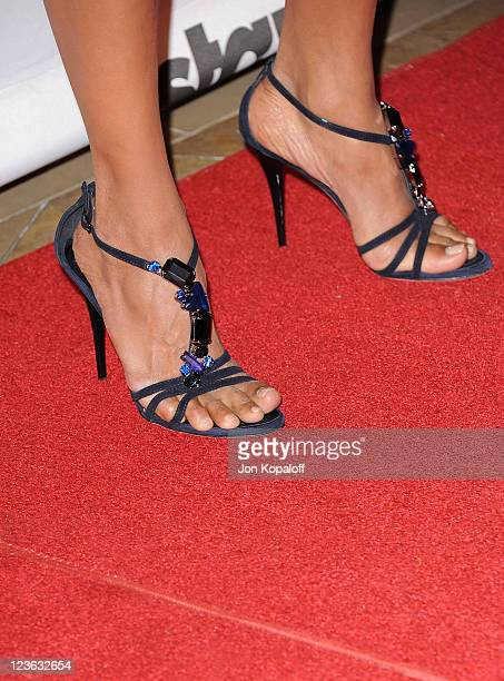 Actress Halle Berry arrives at the 14th Annual Hollywood Awards Gala held at The Beverly Hilton hotel on October 25 2010 in Beverly Hills California