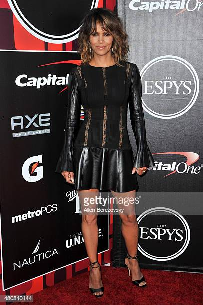 Actress Halle Berry arrives at the 2015 ESPYS at Microsoft Theater on July 15 2015 in Los Angeles California