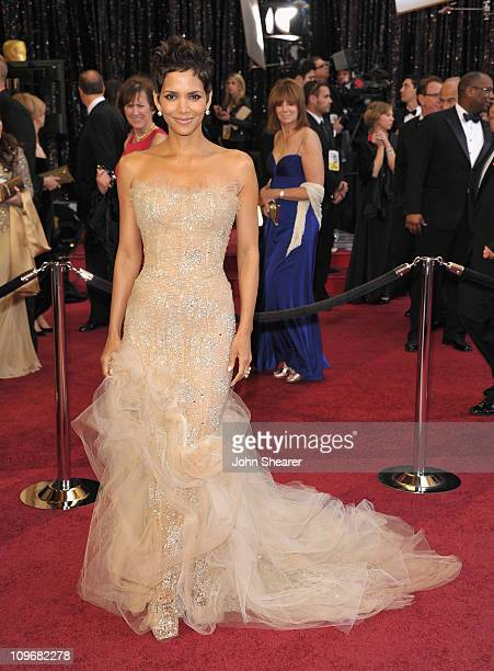 Actress Halle Berry arrives at the 83rd Annual Academy Awards held at the Kodak Theatre on February 27 2011 in Hollywood California