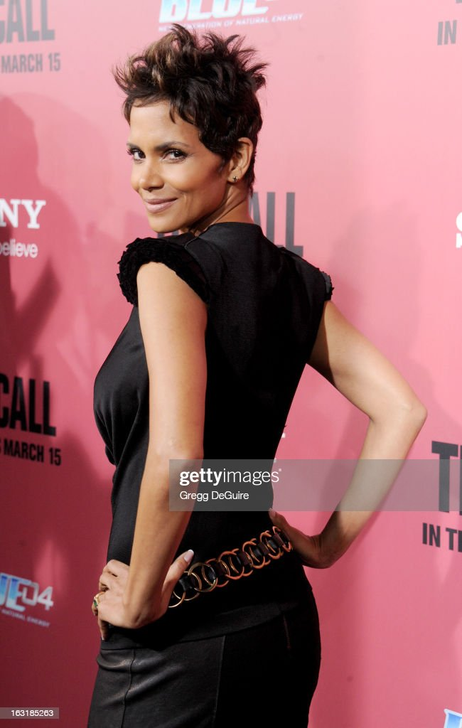 Actress Halle Berry arrives at the Los Angeles premiere of 'The Call' at ArcLight Hollywood on March 5, 2013 in Hollywood, California.