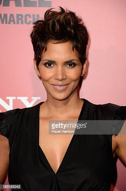 Actress Halle Berry arrives at the premiere Of Tri Star Pictures' 'The Call' at ArcLight Cinemas on March 5 2013 in Hollywood California