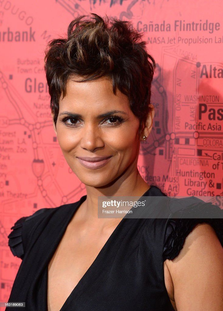Actress Halle Berry arrives at the premiere Of Tri Star Pictures' 'The Call' at ArcLight Cinemas on March 5, 2013 in Hollywood, California.
