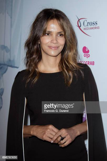 Actress Halle Berry arrives at the 'Tapping New Media To Connect with Fans and Their Passions' Seminar hosted by Interpublic during the Cannes Lions...