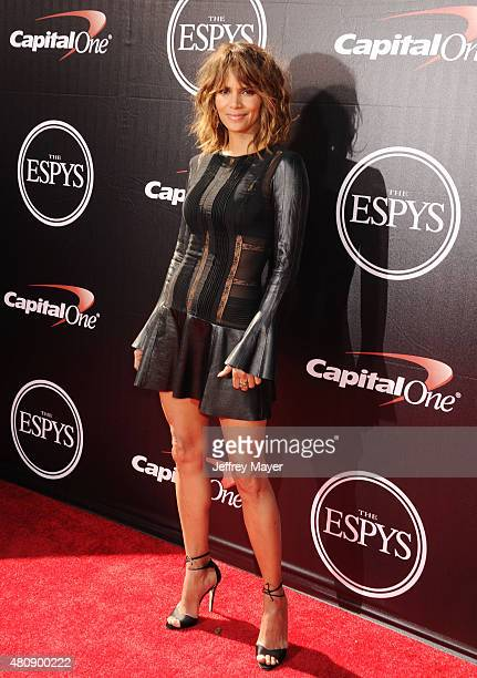 Actress Halle Berry arrives at the The 2015 ESPYS at Microsoft Theater on July 15 2015 in Los Angeles California