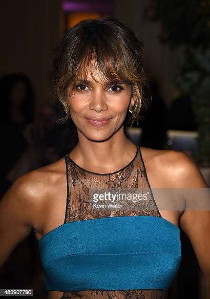 Actress Halle Berry attends HFPA Annual Grants Banquet at the Beverly Wilshire Four Seasons Hotel on August 13 2015 in Beverly Hills California