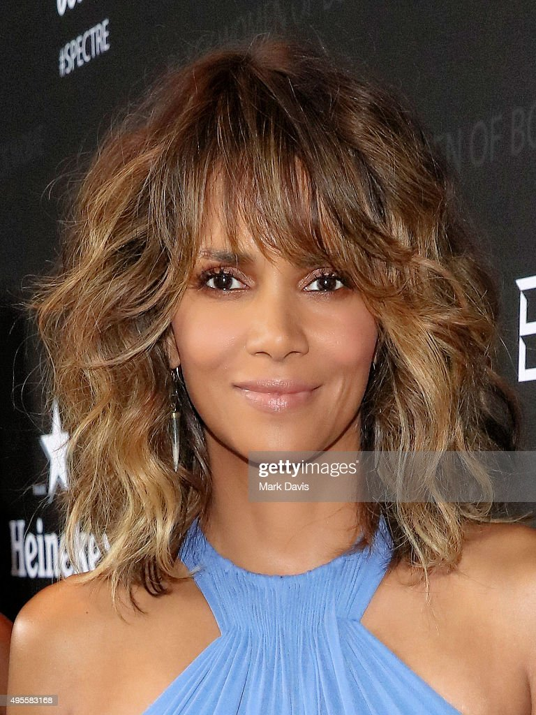Actress <a gi-track='captionPersonalityLinkClicked' href=/galleries/search?phrase=Halle+Berry&family=editorial&specificpeople=201726 ng-click='$event.stopPropagation()'>Halle Berry</a> attends 'Spectre' The Black Women of Bond Tribute at California African American Museum on November 3, 2015 in Los Angeles, California.