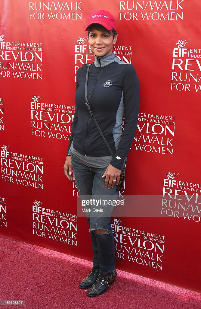 Actress <a gi-track='captionPersonalityLinkClicked' href=/galleries/search?phrase=Halle+Berry&family=editorial&specificpeople=201726 ng-click='$event.stopPropagation()'>Halle Berry</a> attends the 21st Annual EIF Revlon Run Walk For Women at Los Angeles Memorial Coliseum on May 10, 2014 in Los Angeles, California.