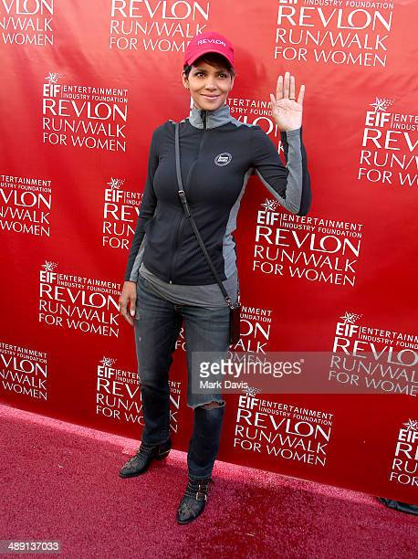 Actress Halle Berry attends the 21st Annual EIF Revlon Run Walk For Women at Los Angeles Memorial Coliseum on May 10 2014 in Los Angeles California
