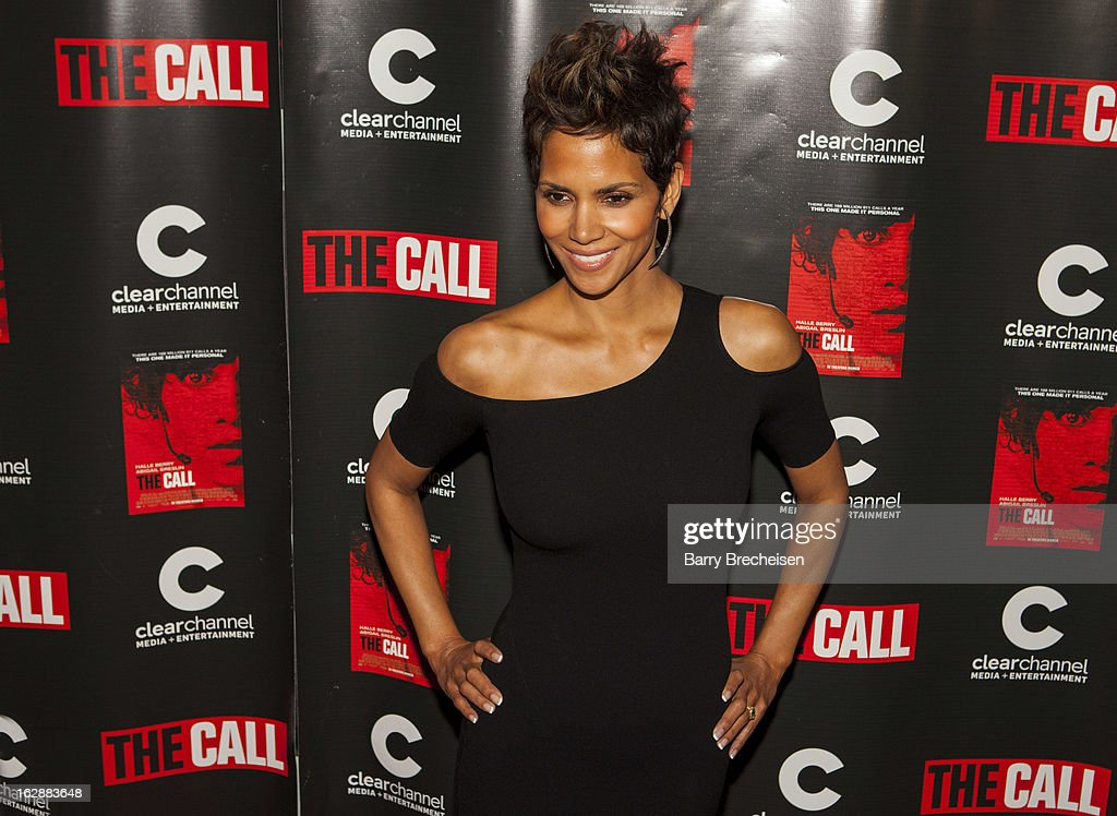 Actress <a gi-track='captionPersonalityLinkClicked' href=/galleries/search?phrase=Halle+Berry&family=editorial&specificpeople=201726 ng-click='$event.stopPropagation()'>Halle Berry</a> attends 'The Call' premiere at Showplace Icon Theater on February 28, 2013 in Chicago, Illinois.