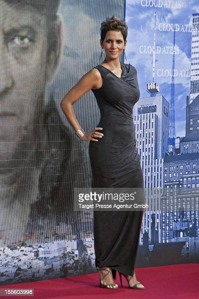 Actress Halle Berry attends the 'Cloud Atlas' Germany Premiere at CineStar on November 5 2012 in Berlin Germany