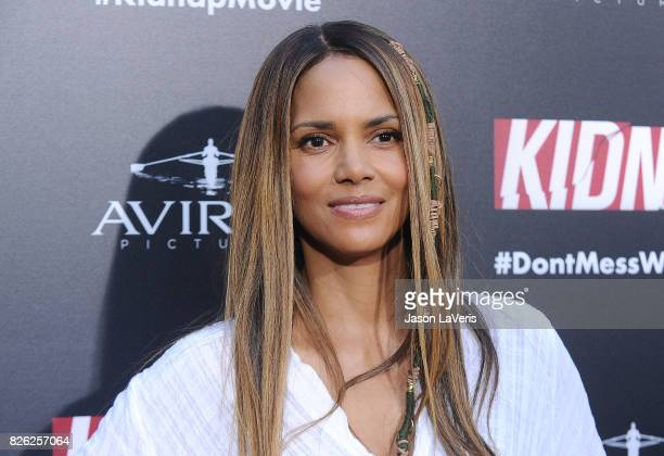 Actress Halle Berry attends the premiere of 'Kidnap' at ArcLight Hollywood on July 31 2017 in Hollywood California