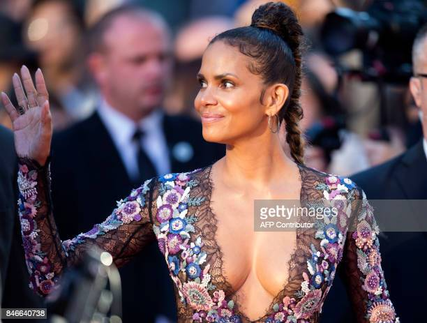 Actress Halle Berry attends the world premiere of 'Kings' during the 2017 Toronto International Film Festival on September 13 2017 in Toronto Ontario...