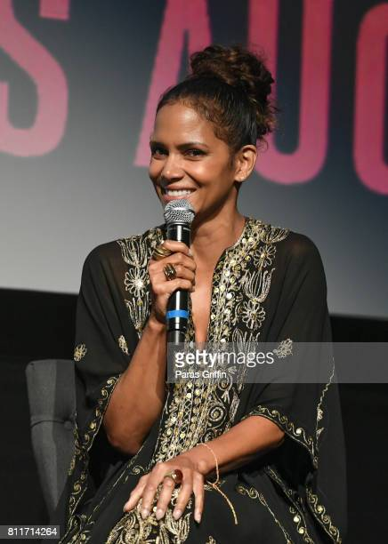 Actress Halle Berry onstage at 'Kidnap' New Orleans Screening at The Orpheum Theatre on June 29 2017 in New Orleans Louisiana