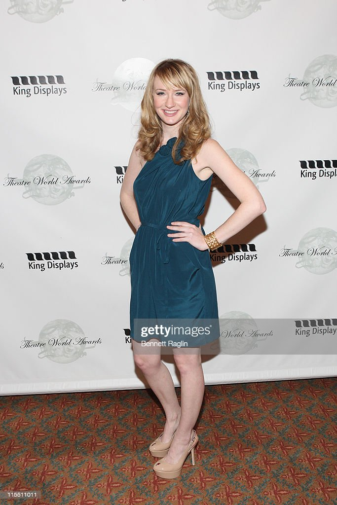 Actress Halley Feiffer attends the 67th annual Theatre World Awards Ceremony at the August Wilson Theatre on June 7, 2011 in New York City.