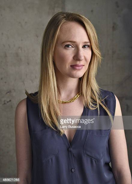 Actress Halley Feiffer from 'Glass Chin' poses for the 2014 Tribeca Film Festival Getty Images Studio on April 19 2014 in New York City