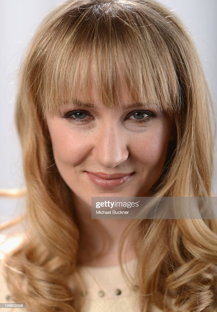 Actress Halley Feiffer poses for a portrait at the photo booth for MSN Wonderwall at ChefDance on January 20, 2013 in Park City, Utah.