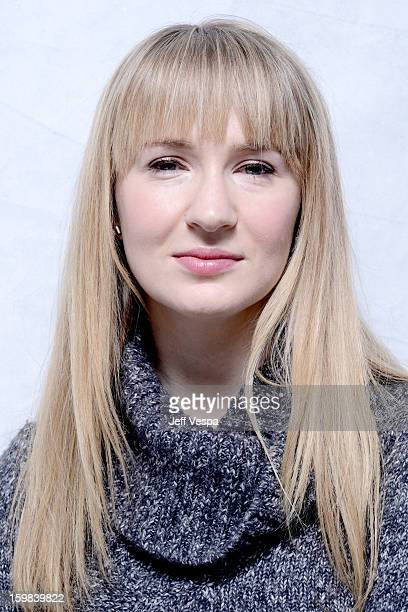 Actress Halley Feiffer poses for a portrait during the 2013 Sundance Film Festival at the WireImage Portrait Studio at Village At The Lift on January...