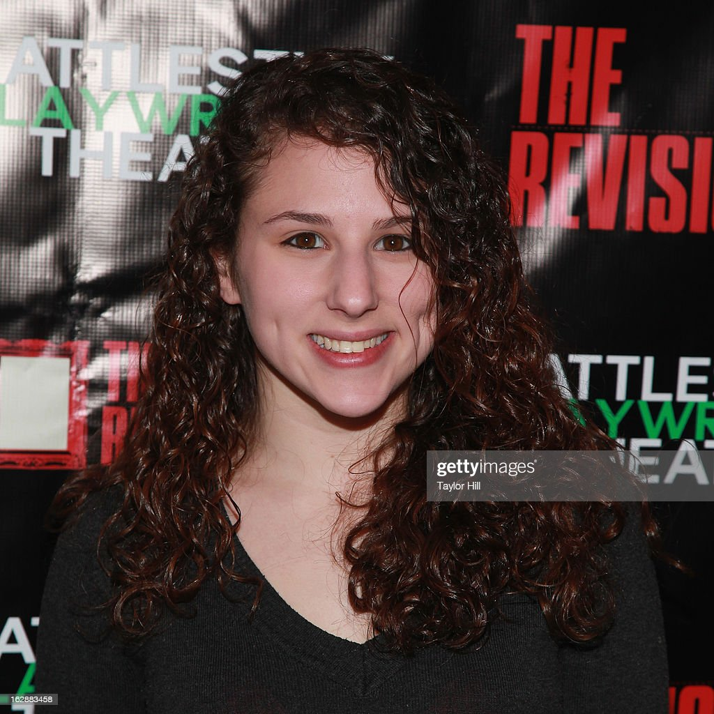 Actress Hallie Kate Eisenberg attends 'The Revisionist' Opening Night at Cherry Lane Theatre on February 28, 2013 in New York City.