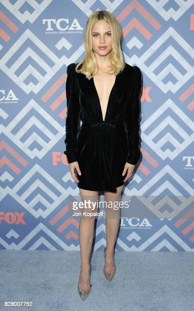 Actress Halston Sage arrives at the 2017 Fox Summer TCA Tour at the Soho House on August 8 2017 in West Hollywood California