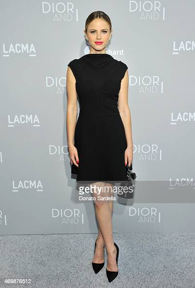 Actress Halston Sage attends Dior And I Los Angeles Premiere at LACMA on April 15 2015 in Los Angeles California