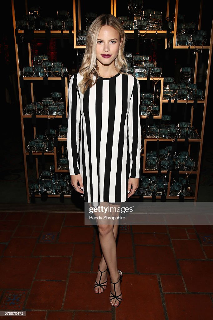 Actress Halston Sage attends Marc Jacobs celebrates Divine Decadence on July 21 2016 in Los Angeles California