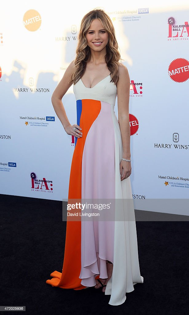 Actress Halston Sage attends the Mattel Children's Hospital UCLA Kaleidoscope Ball at 3LABS on May 2, 2015 in Culver City, California.