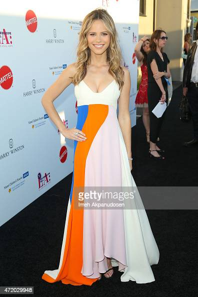 Actress Halston Sage attends the Mattel Children's Hospital UCLA Kaleidoscope Ball at 3LABS on May 2 2015 in Culver City California