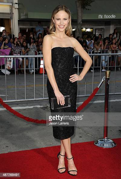 Actress Halston Sage attends the premiere of 'Neighbors' at Regency Village Theatre on April 28 2014 in Westwood California
