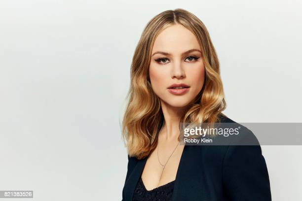Actress Halston Sage from FOX's 'The Orville' poses for a portrait during ComicCon 2017 at Hard Rock Hotel San Diego on July 22 2017 in San Diego...