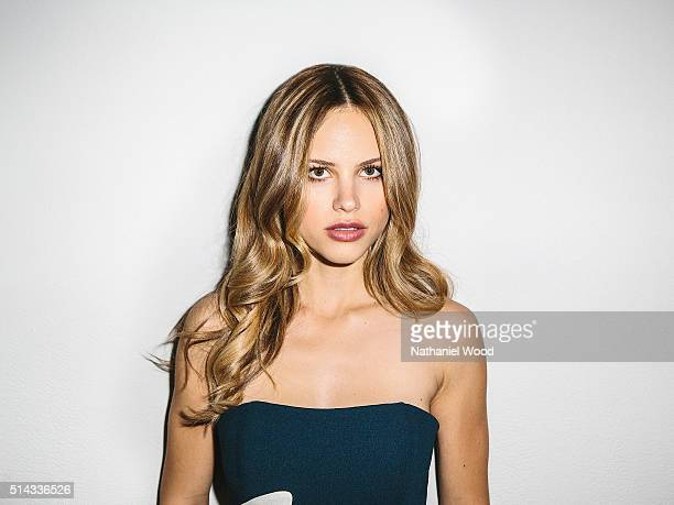 Actress Halston Sage is photographed for Teen Vogue Magazine on August 4 2015 in Los Angeles California