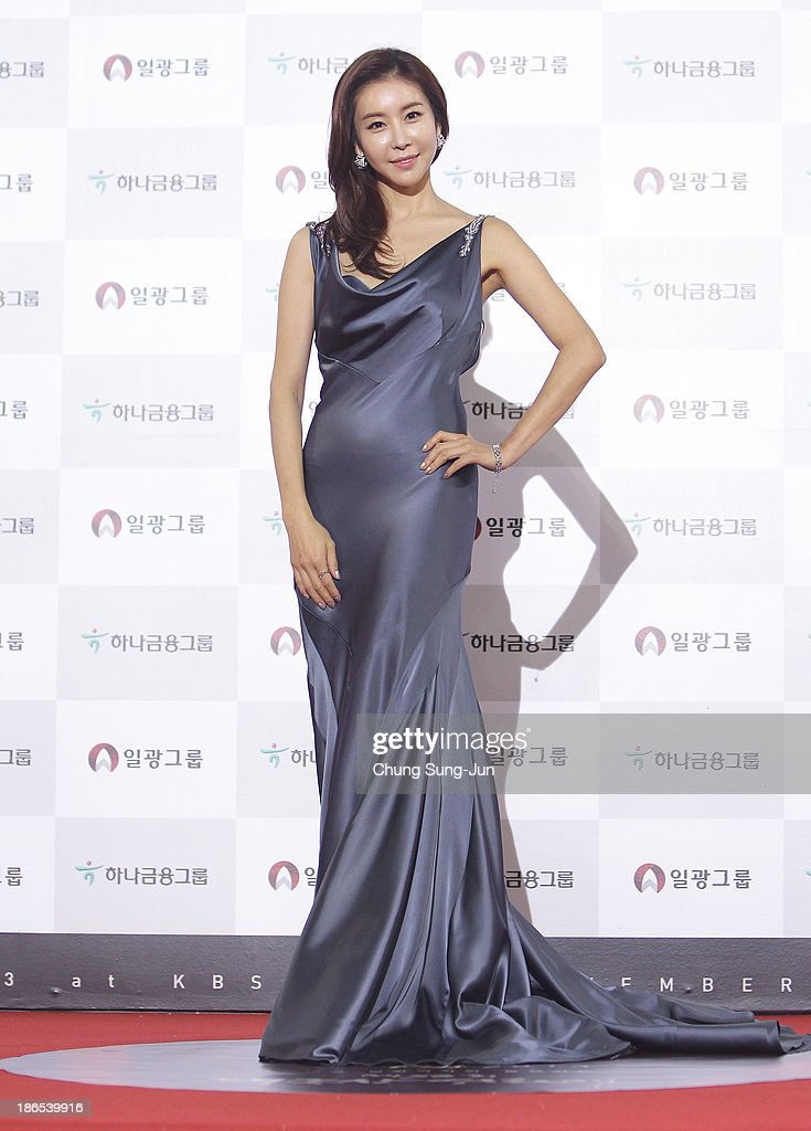 Actress Han Eun-Jung arrives for the 50th Daejong Film Awards at KBS hall on November 1, 2013 in Seoul, South Korea.