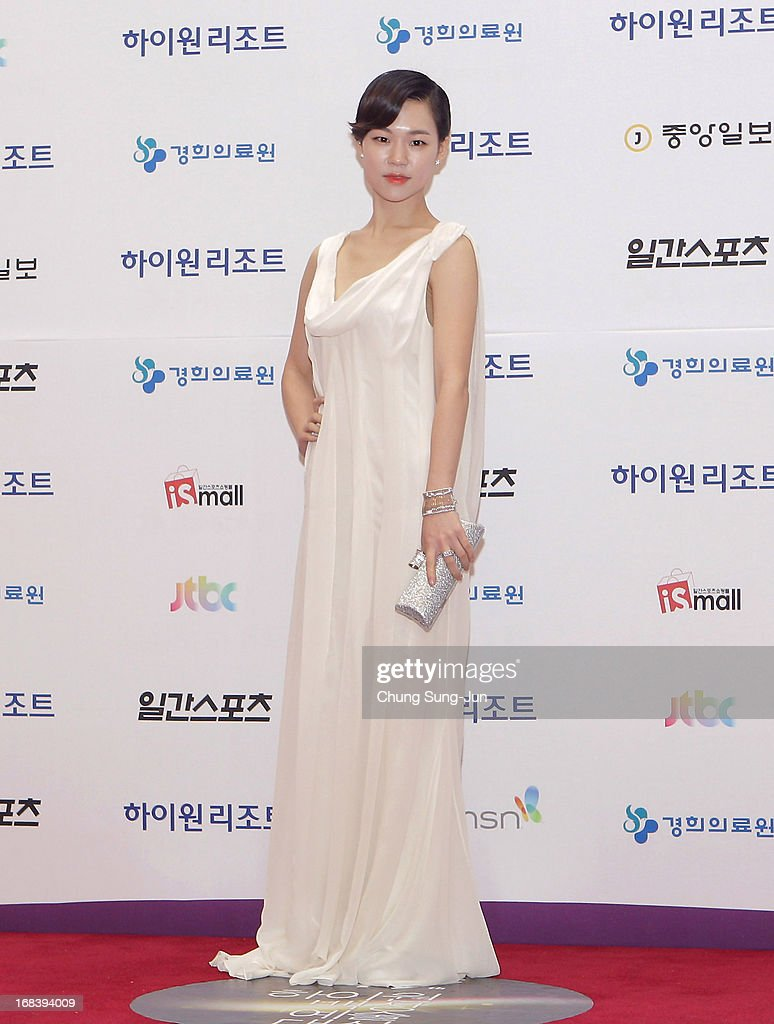 Actress <a gi-track='captionPersonalityLinkClicked' href=/galleries/search?phrase=Han+Ye-Ri&family=editorial&specificpeople=8520089 ng-click='$event.stopPropagation()'>Han Ye-Ri</a> arrives for the 49th Paeksang Arts Awards on May 9, 2013 in Seoul, South Korea.